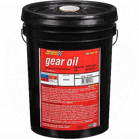 Carquest Grease And Lube Premium 85w-140 Gear Oil - 790-05