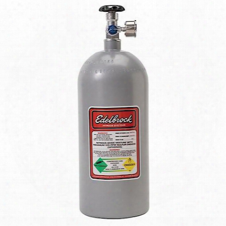 Edelbrock Nitrous Bottle - 72311