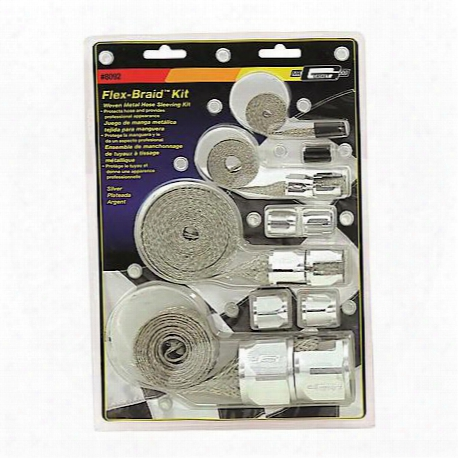 Mr. Gasket Flex-braid Hose Sleeving Kit - 8092