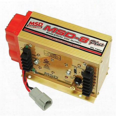 Msd Ignition Ignition Control, Msd-8 Plus - 7805