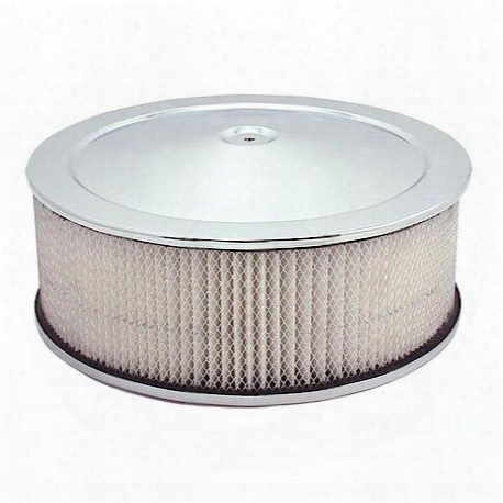 Spectre 14 X 5 Air Cleaner Chrome - 4751