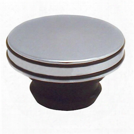 Spectre O-ring Oil Cap Push Chrome - 17385