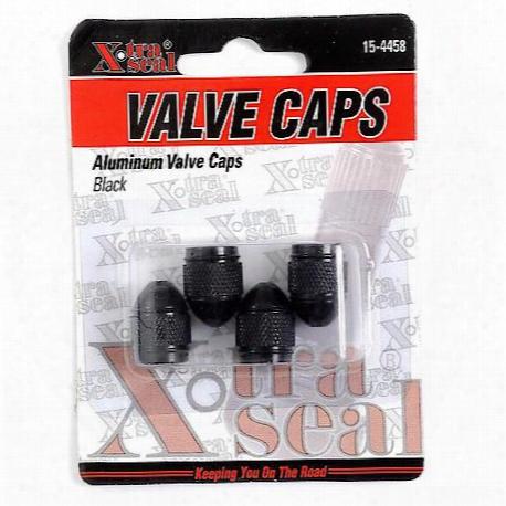 Xtra Seal Sport Valve Cap Black - 15-4458