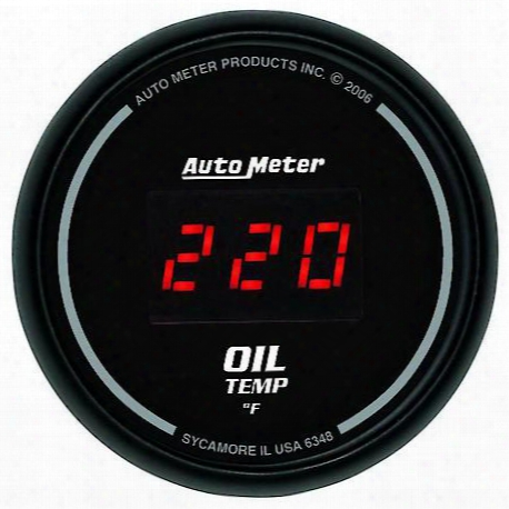 Autometer Sport-comp Digital Oil Temperature Gauge - 6348
