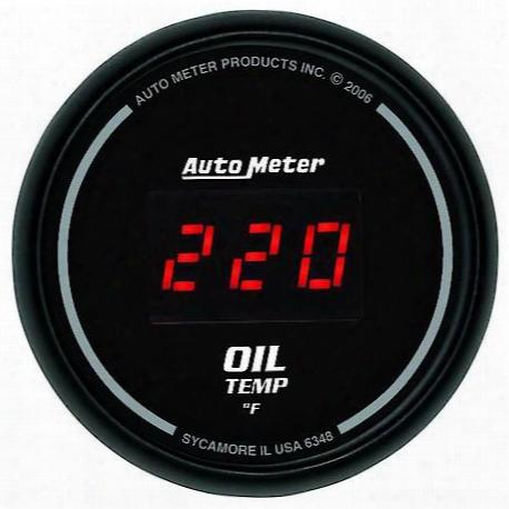 Autometer Sport-comp Digital Oil Temperature Gauge - 6348