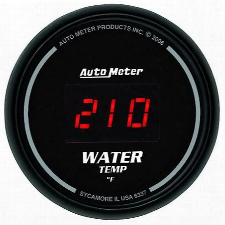 Autometer Sport-comp Digital Water Temperature Gauge - 6337