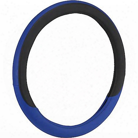 Bell Automotive Hfc-steering Wheel Cover Smooth Racer Blue - 22-1-97172-9/22