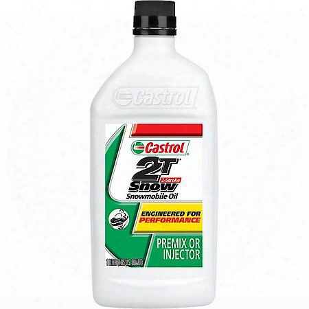 Castrol 2t 2-stroke Snowmobile Oil (1 Quart)  - 12150