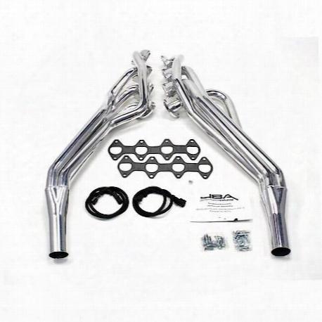 Jba Performance Exhaust 6675sjs 1 5/8 Inch Header Long Tube Stainless Steel 05-10 Mustang Gt Silver Ceramic - 6675sjs