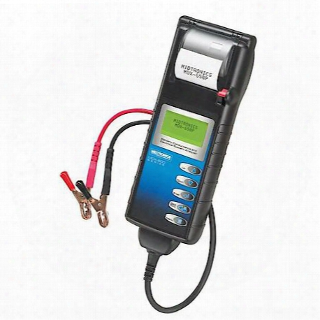 Midtronics Battery And Electrical System Aanalyzer With Built In Printer - Midmdx-650p
