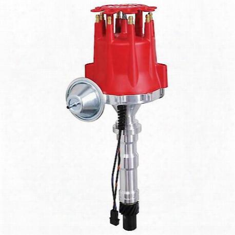 Msd Ignition Distributor, Cadillac V8 W/vacuum Advance - 8363