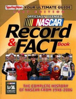Nascar Record & Fact Book