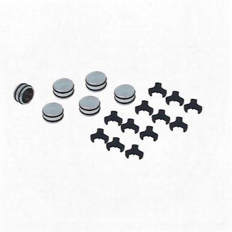 Spectre O-ring Bolt Caps Chrome - 14185