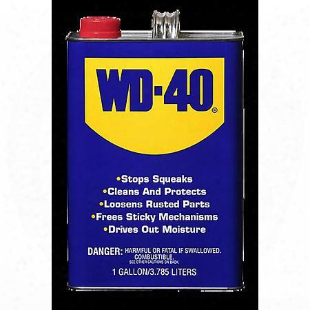 Wd-40 Multi-purpose Lubricant Gallon Liquid - 100101001