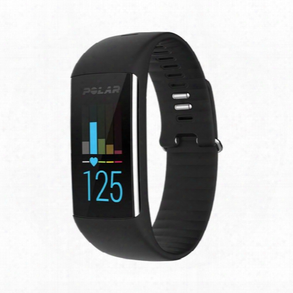 A370 Fitness Tracker With 24/7 Wrist-based Heart Rate And Connected Gps