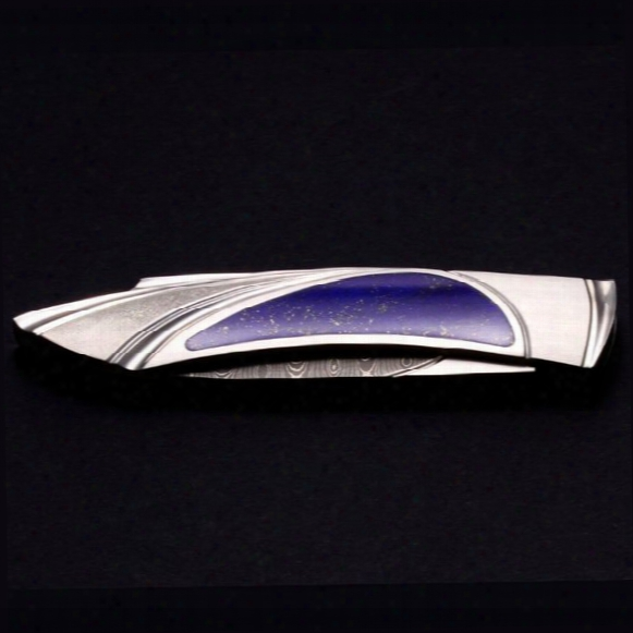 Damascus Lapis Carved