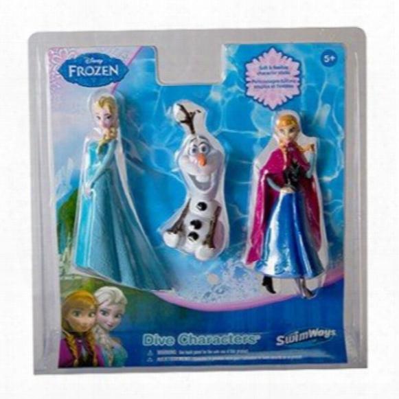 Disney Frozen Dive Characters