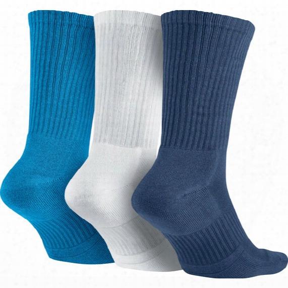 Dri-fit Half-cushion Crew Training Sock (3 Pair) - Mens