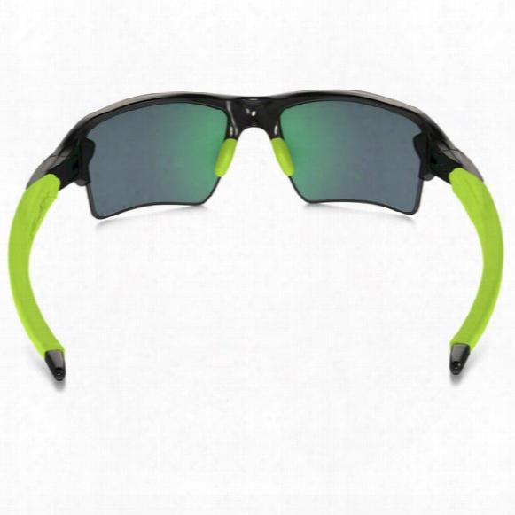 Flak 2.0 Xl Sunglasses - Jade Iridium Polarized Lens