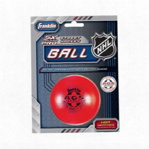 Franklin Ags Pro Super High Density Street/ Roller Hockey Ball