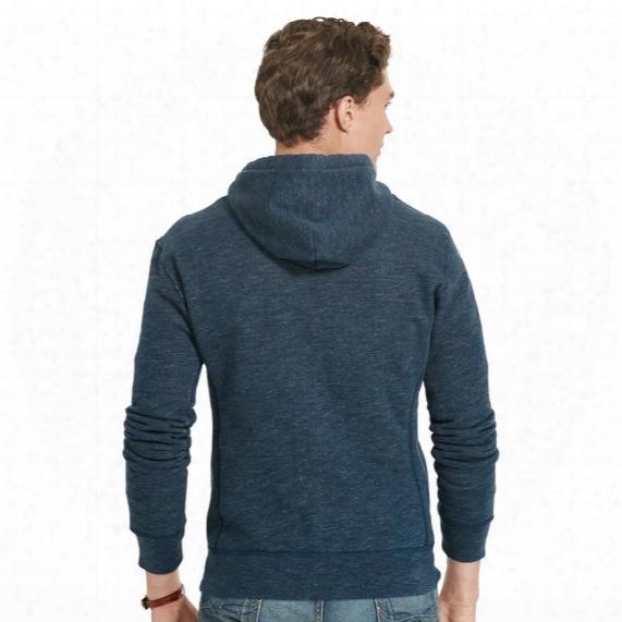 Full Zip Hooded Polo Fleece - Mens