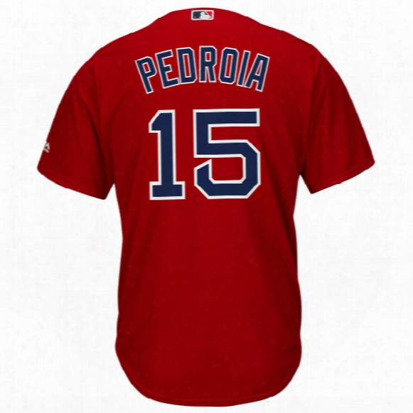 Mlb Boston Red Sox Cool Base Player Jersey ( Dustin Pedroia ) - Youth
