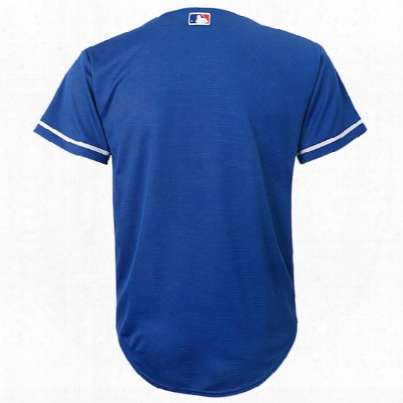 Mlb Los Angeles Dodgers Alternate Cool Base Jersey - Youth