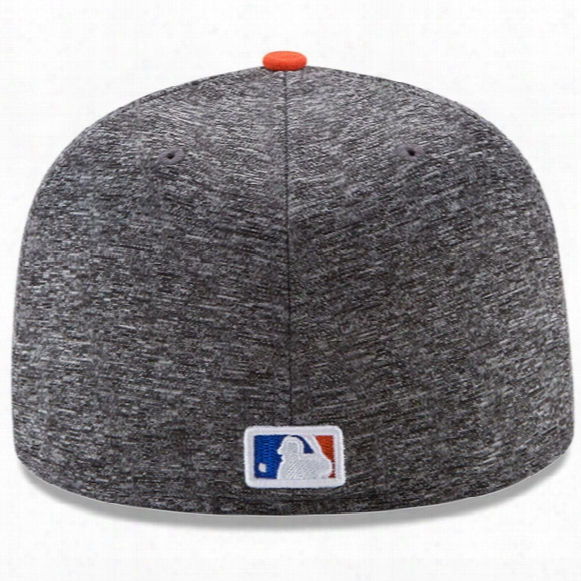Mlb New York Mets Heather League Basic 59fifty Fitted Cap - Mens