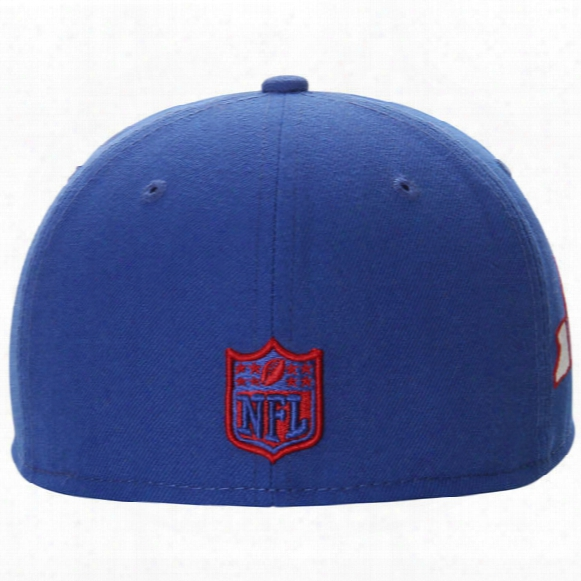 New York Giants State Clip 59fifty Fitted Cap - Mens