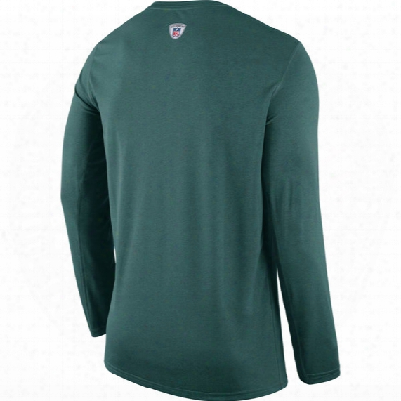 Nfl Eagles Practice Long Sleeve T-shirt - Mens