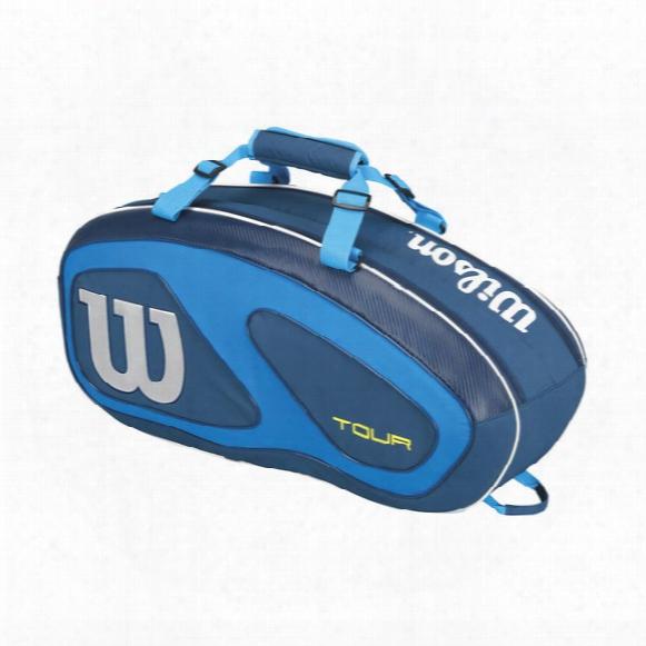 Tour V Blue 6 Pack Tennis Bag