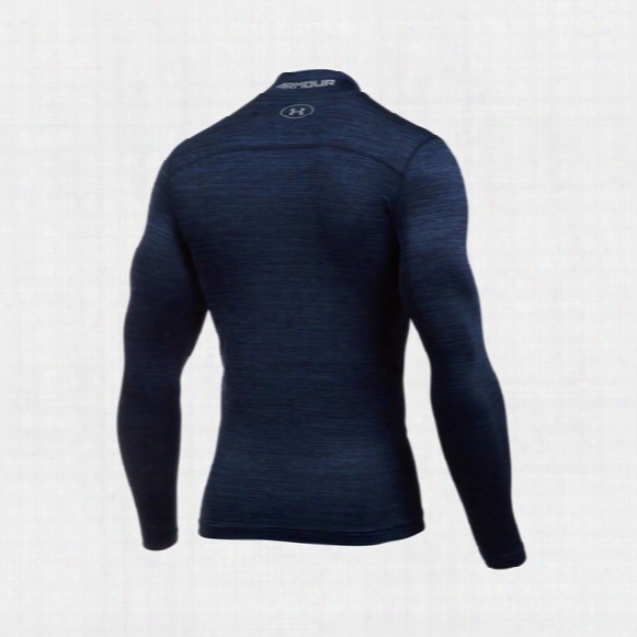 Ua Coldgearã'â® Armour Twist Compression Mock Shirt â€⠀œ Mens