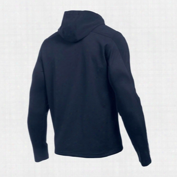 Ua Coldgear Infrared Grid Pullover Hoodie - Mens