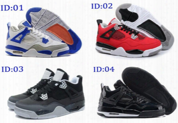 2016 Cheap Mens Air Retro 4 Basketball Shoes,high Quality Fashion Comfort Sporting Athletic Running Shoes Sneakers Size 41-47