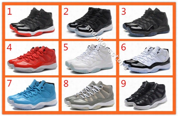 2016 Cheap Retro Basketball Shoes Air Retro 11 Lows High Legend Blue Bred Gamma Blue Pantone 11s Men Women Mens Basketball Shoes Sneakers