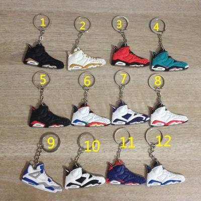 2016 Cheap Sale Hot Sale Key Buckle Key Chains Basketball Shoes Running Shoes Sports Sneakers Fashion Style Good Quality Retro 1 4 12