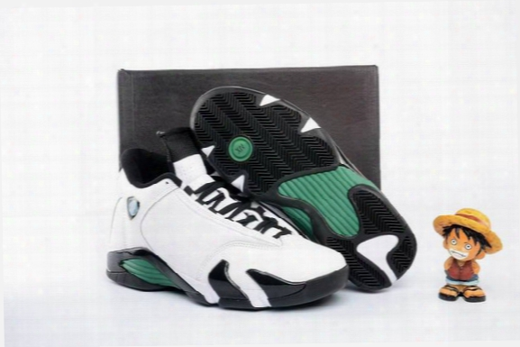 2016 Classic Retro 1 4 Og Oxidized Green 14s Indiglo White/black Men Basketball Shoes Xiv Cheap Sneakers With Shoe Box High Qualtiy