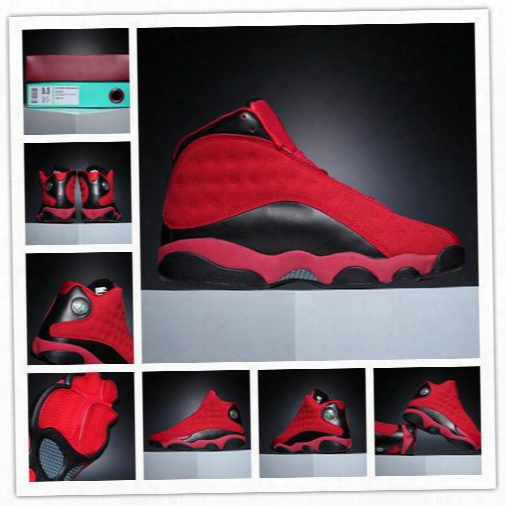 2016 Mens Air Retro 13 Chinese Singles Day Basketball Shoes Size 41- 47 Wholesale Price Free Drop Shipping