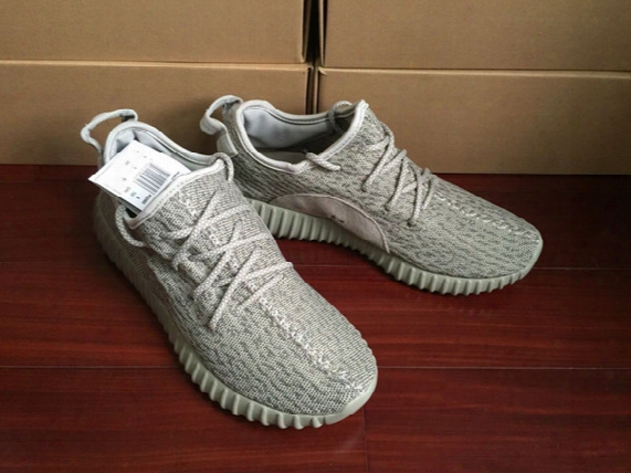 2016 Wide Bottom Moonrock Kanye West 350 Boost Men Running Shoes Sneakers Turtle Dove Basketball Boots With Original Box Receipts Size 36-47