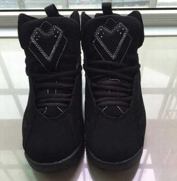 2017 Black White Air Retro 7.5 Vii Atrengthen Men Womenw Basketball Shoes Aa High Quality Size Usa 5.5 11 Wholesale Drop Shipping