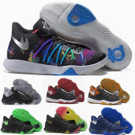 2017 Kd Trey 6 Basketball Shoes Men White Kevin Durant 6 5 Tennis Floral Aunt Pearls Kds Shoes Low Cut Femme Homme Philippines Athletic Snea