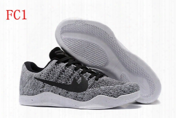 2017 Kobe 11 Xi Low Basketball Shoes Bryant Kobe 11 Elite Running Shoes Kb Xi Retro Weaving Sports Casual Sneakers Kobe Boots 43colors