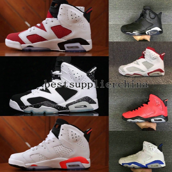 2017 New Mens Air Retro 6 Vi Basketball Shoes High Quality Sports Running Men Trainers Athletics Slam Dunk Bugs Bunny Retros 6s Sneakers