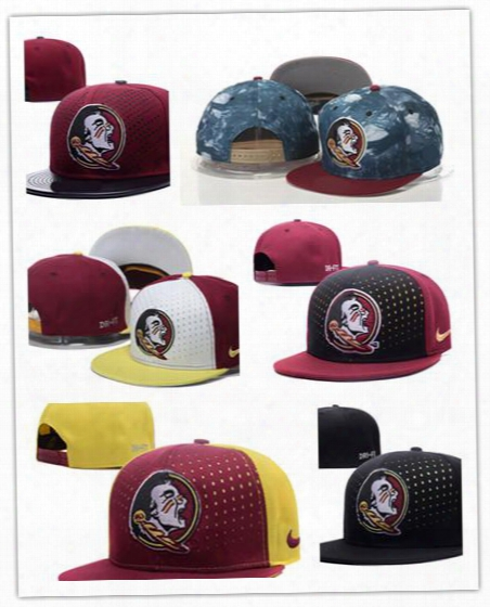2017 New Style Cheap Florida (fsu) Hat Florida State Seminoles Basketball Caps,snapback College Football Hats,adjustable Cap Free Shipping