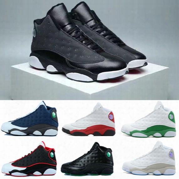 2017 Retro 13 Grey Toe Flints Men Basketball Shoe Cheap Retro 13s Xiii Red Black White Horizon Bred Sport Shoes Sale Online
