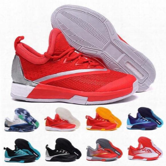 2017 Wholesale Discount Crazylight Boost 2.5 New Arrival Harden Men's Basketball Shoes Men Sneakers Shoes Men Athletics Shoes Size 40-46