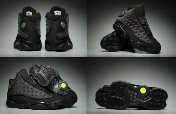 2017 With Box Retro Air 13 Xiii Black Cat Altitude Mens Basketball Shoes A High Quality Size Us 8 13 Wholesale Sneaker New Arrive