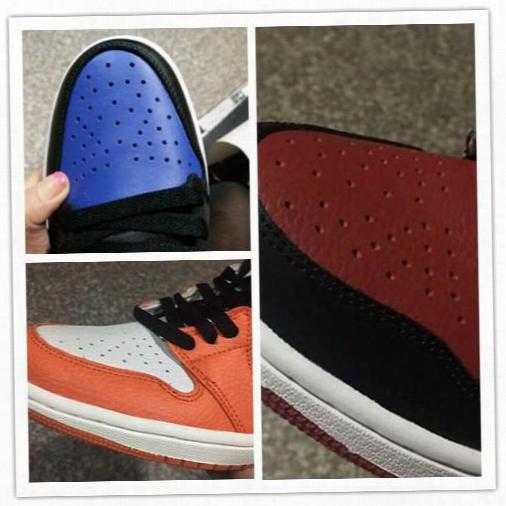 Air Retro 1 I White Shattered Backboard Banned Black Elephant Print Blue Baksetball Shoes 1:1 Best Quality Wholesale Size Us 7 12