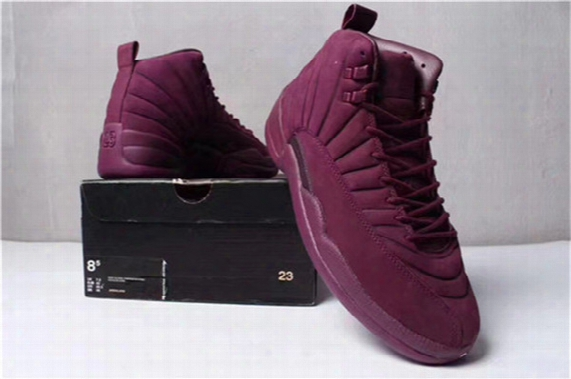Air Retro 12 Xii Basketball Shoes Mens Sneakers Bordeaux Olive Wheat Purple Green High Quality With Box Size 40-47 Us7-13