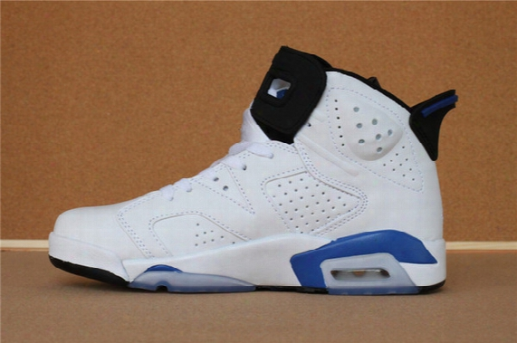 Air Retro 6 Vi Sport Blue White Man Women Basketball Shoes Aa High Quality Version Wholesale Size Us 5.5 13 Wholesale Sneakers